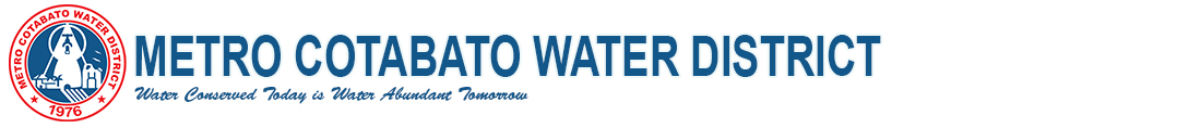 Metro Cotabato Water District Logo